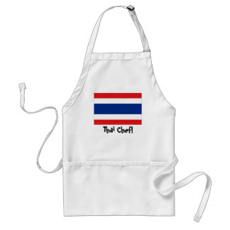 Thailand flag chef apron