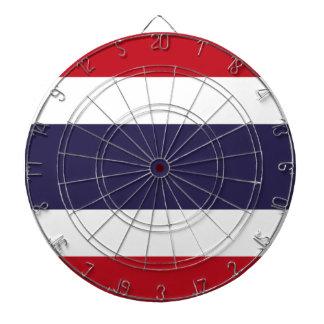 Thailand flag dartboard