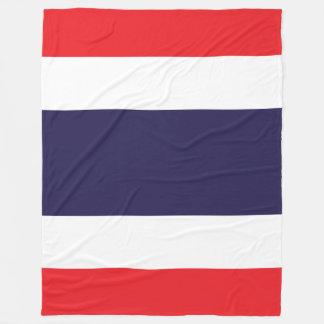 Thailand Flag Fleece Blanket