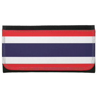 Thailand Flag Leather Wallet