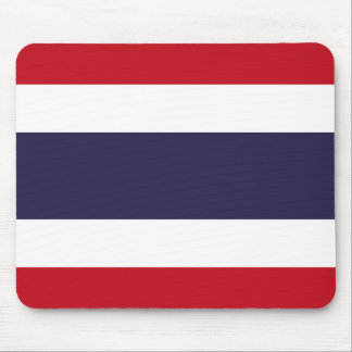 Thailand flag mouse pad