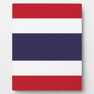 Thailand flag plaque