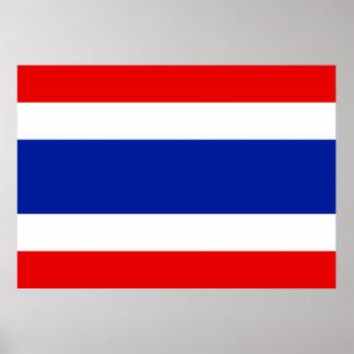 Thailand Flag Poster
