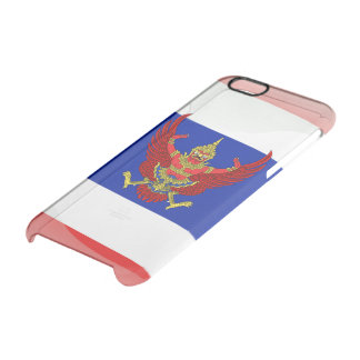 Thailand glossy flag clear iPhone 6/6S case