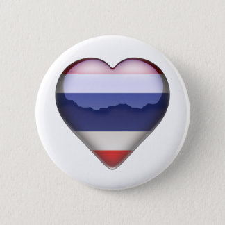 Thailand Heart 2 Inch Round Button
