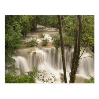 Thailand, Huai Mae Khamin Waterfall Postcard