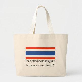 Thailand Jumbo Tote Bag