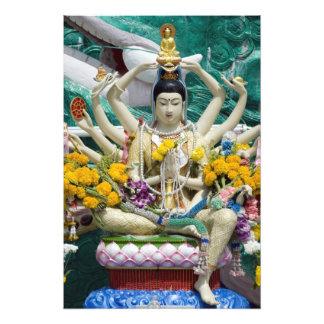 Thailand, Ko Samui aka Koh Samui). Wat Plai 2 Photographic Print