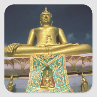 Thailand, Koh Samui Island. Big Buddha. Square Sticker