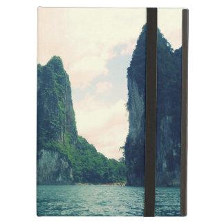 Thailand lake mountain landscape iPad air cases