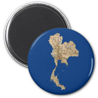 Thailand Map Magnet