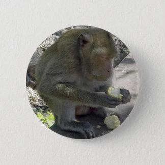 Thailand Monkey 2 Inch Round Button