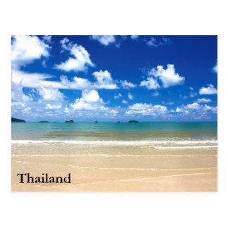 Thailand on the Beach Postcard