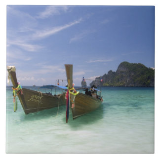 Thailand, Phi Phi Don Island, Yong Kasem beach, Tile
