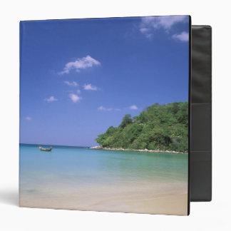 Thailand, Phuket Island. Beach. Vinyl Binders
