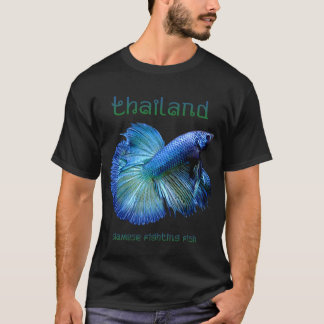 Thailand Siamese Fighting Fish T-Shirt