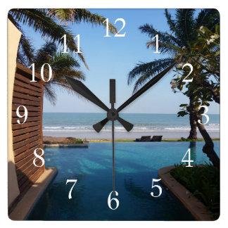 Thailand Spa Clock