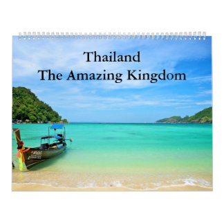 Thailand - The Amazing Kingdom Calendars