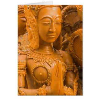 Thailand, Ubon Ratchathani, Candle festival, Card