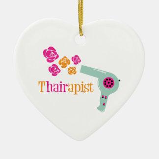 Thairapist Ceramic Ornament