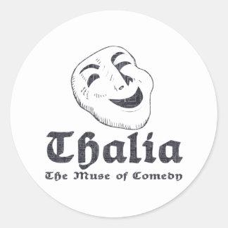 Thalia Round Sticker