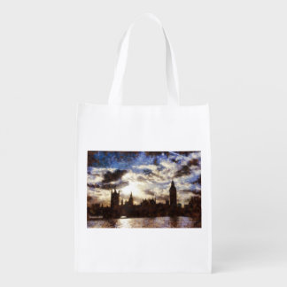 Thames and Westminster Palace Market Tote