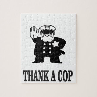 thank a cop jigsaw puzzle