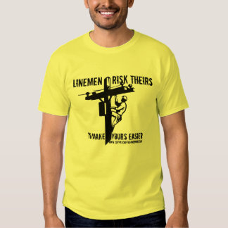 Thank a Lineworker Tees