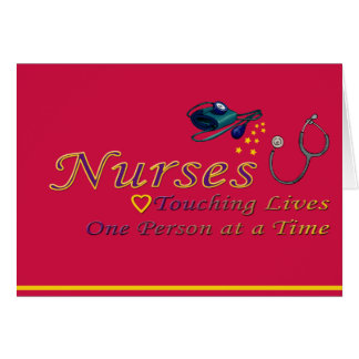 Thank a Nurse Card
