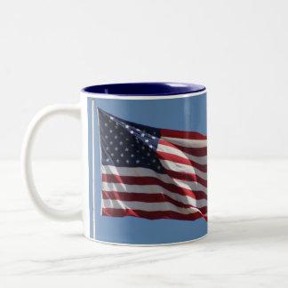 Thank a Veteran! Two-Tone Coffee Mug
