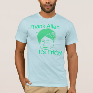 Thank Allah It's Friday T-Shirt