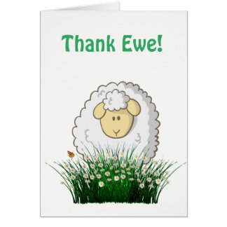 Thank Ewe! Card
