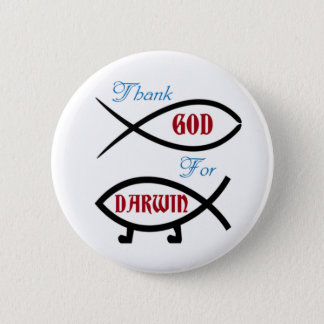 Thank God For Darwin Button
