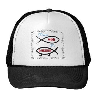 Thank God For Darwin Trucker Hat