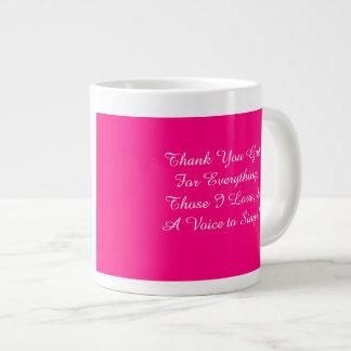 Thank God for Everything Mug!~ Giant Coffee Mug