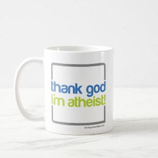 Thank God I'm Atheist Mug