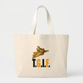 Thank God Its Friday Large Tote Bag