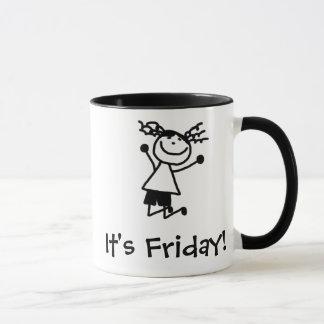 Thank goodness it's Friday mug