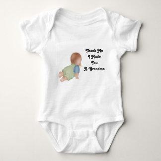 Thank Me1, Thank Me I Made You A Grandma Baby Bodysuit