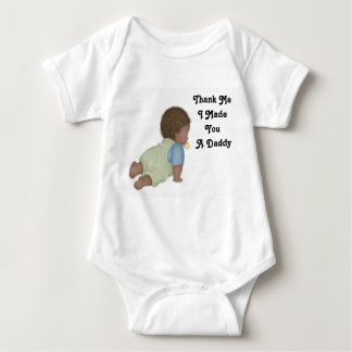 Thank Me2, Thank Me I Made You A Daddy Baby Bodysuit