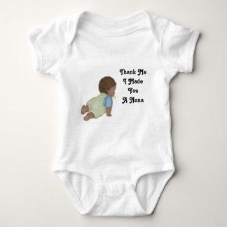 Thank Me2, Thank Me I Made You A Nana Baby Bodysuit