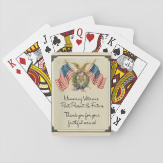 THANK OUR VETERANS PLAYING CARDS