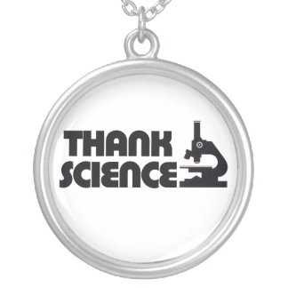 Thank Science Silver Plated Necklace