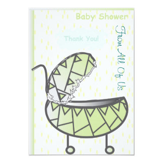 "Thank You 5"" X 7"" Invitation Card"