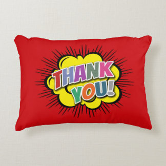 Thank You Accent Pillow