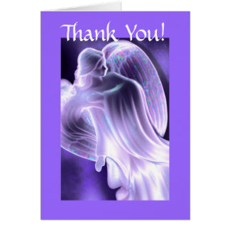Thank You -  Angel Greeting Card