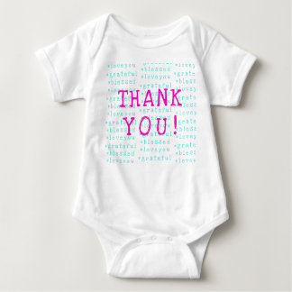 Thank You! Baby Bodysuit