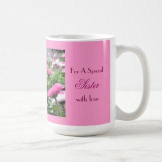 Thank You - Beautiful Flowers Basic White Mug