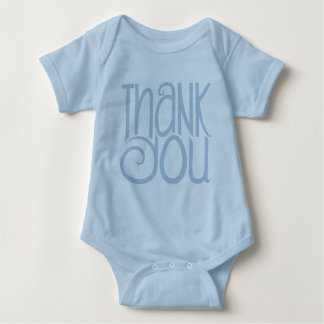 Thank You Blue Baby T-shirt