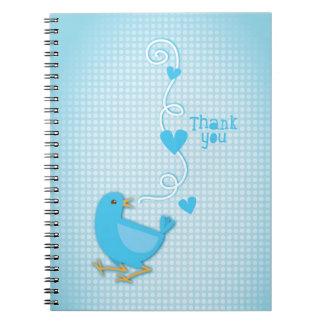 Thank you Blue Bird Notebooks